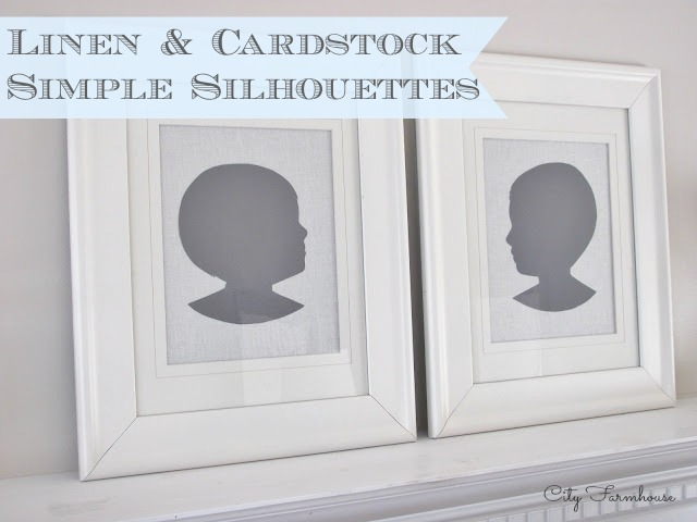 Linen & Cardstock Simple Silhouettes