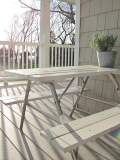 Picnics On The Porch