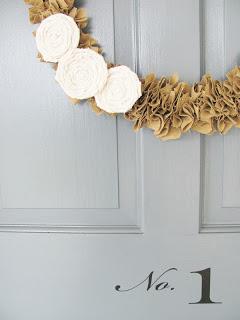 New Linen Wreaths