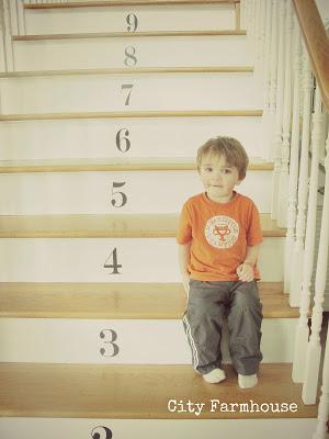 Dekorationly.com Genummerde trappen trappen genummerde