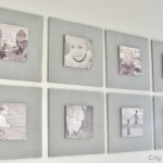Striped Bench & Gallery Wall Preview