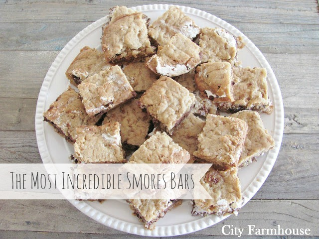 The Most Incredible Smores Bars
