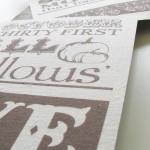 Printing on Linen Tutorial & Free Fall Printables