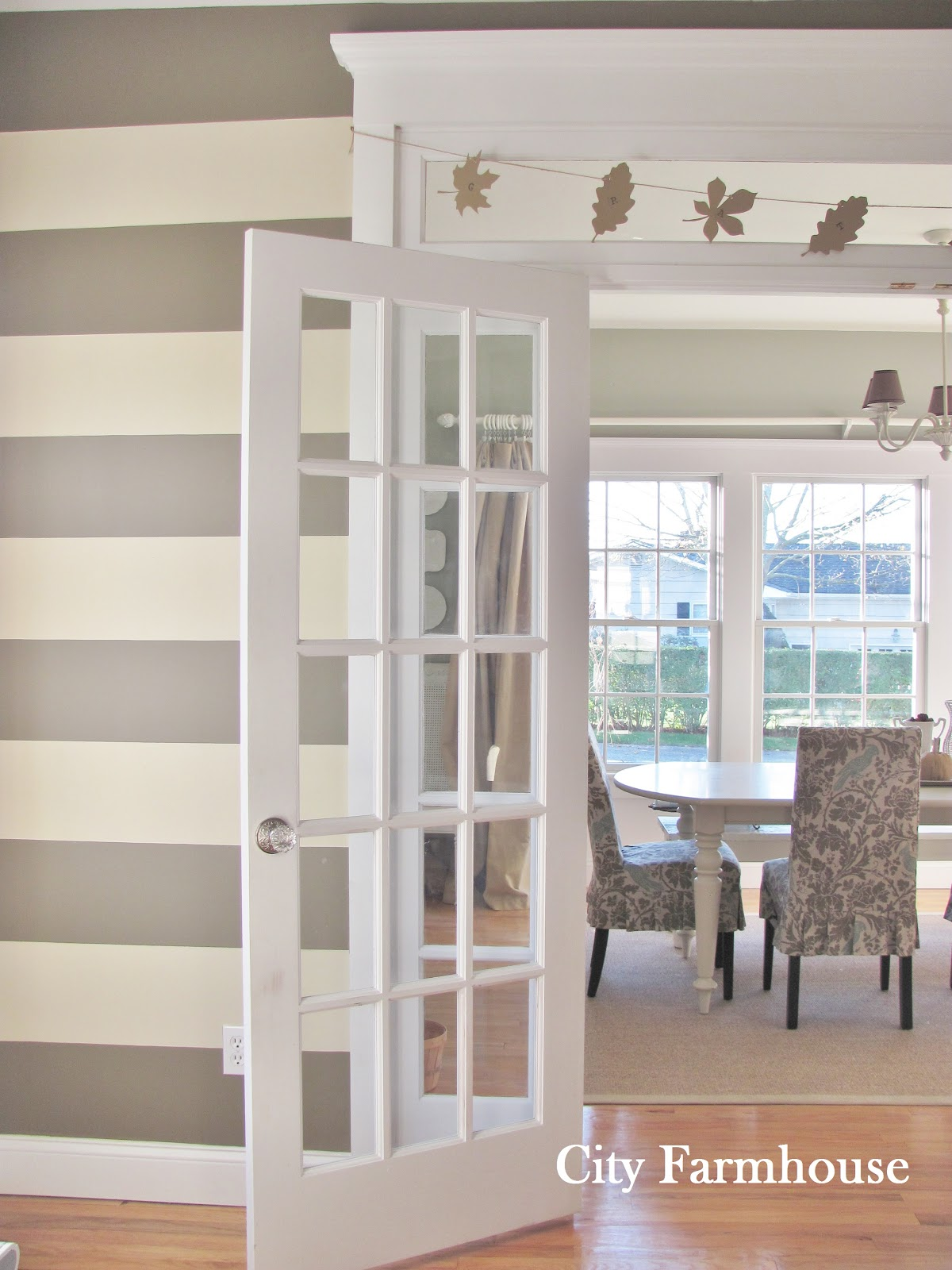 Contact Paper Wall Stripes City Farmhouse