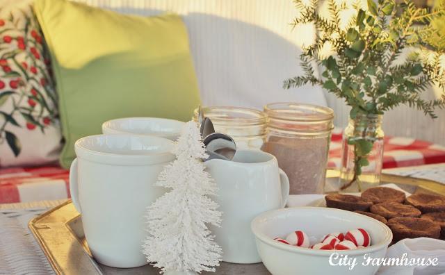 Dekorationly.com Onze veranda en een beetje warm cacaoplezier veranda cacaoplezier beetje