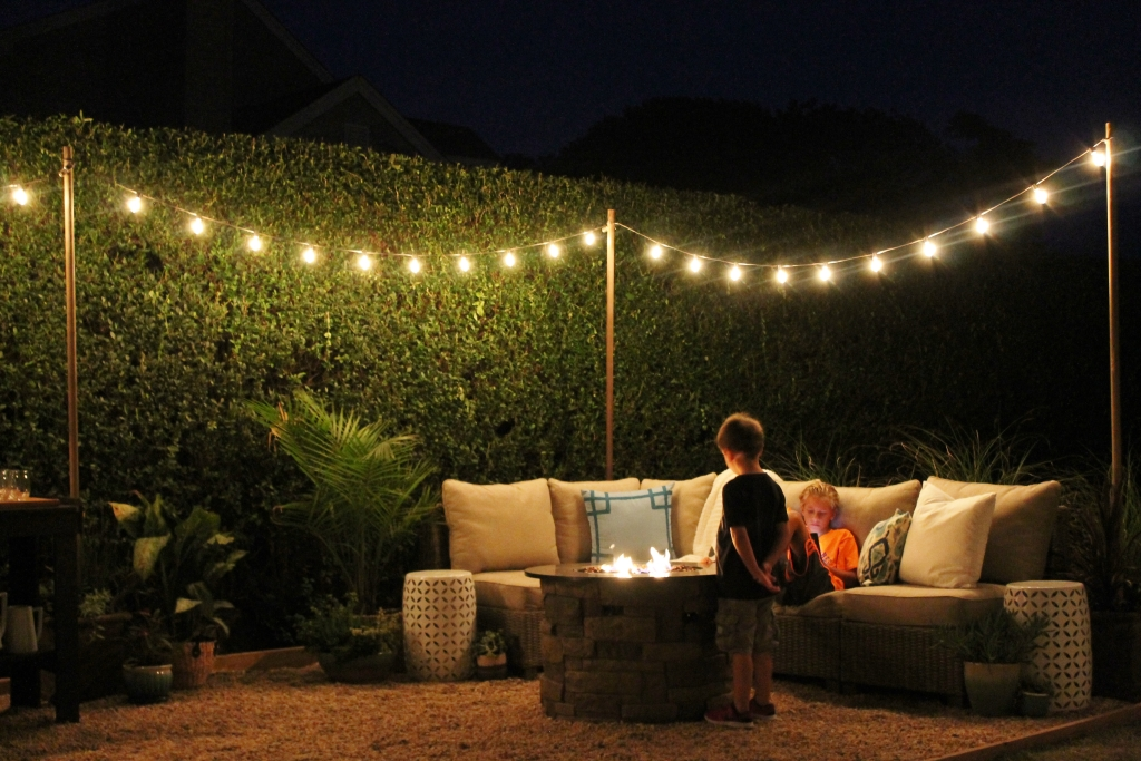 City Farmhouse Night Lights & Firepit