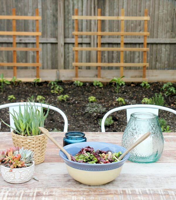 City Farmhouse Teak Table & Garden