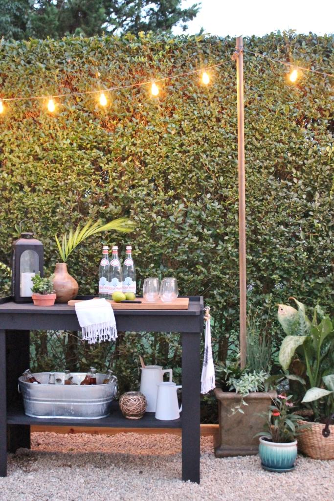 Outdoor Bar & String Lights