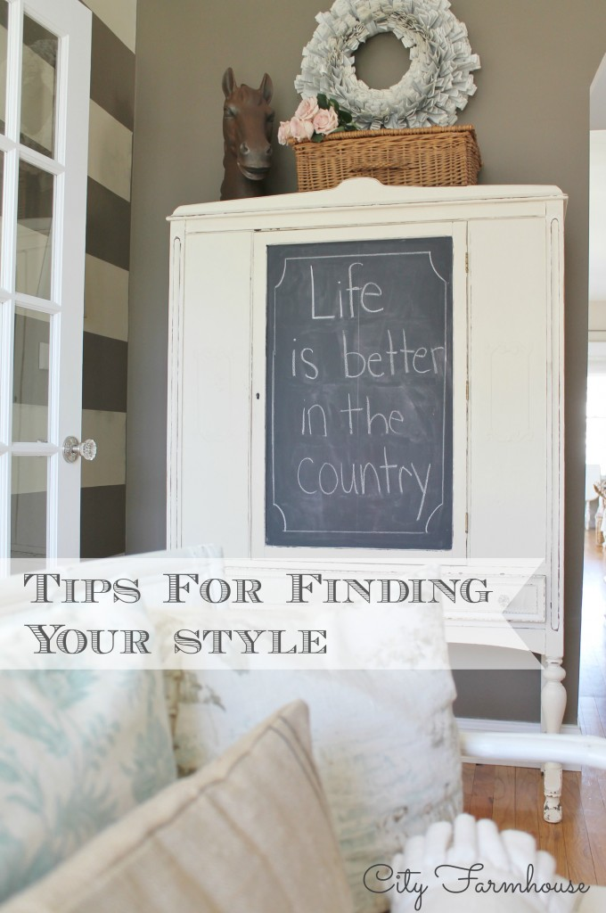 Finding Your Style-City Farmhouse