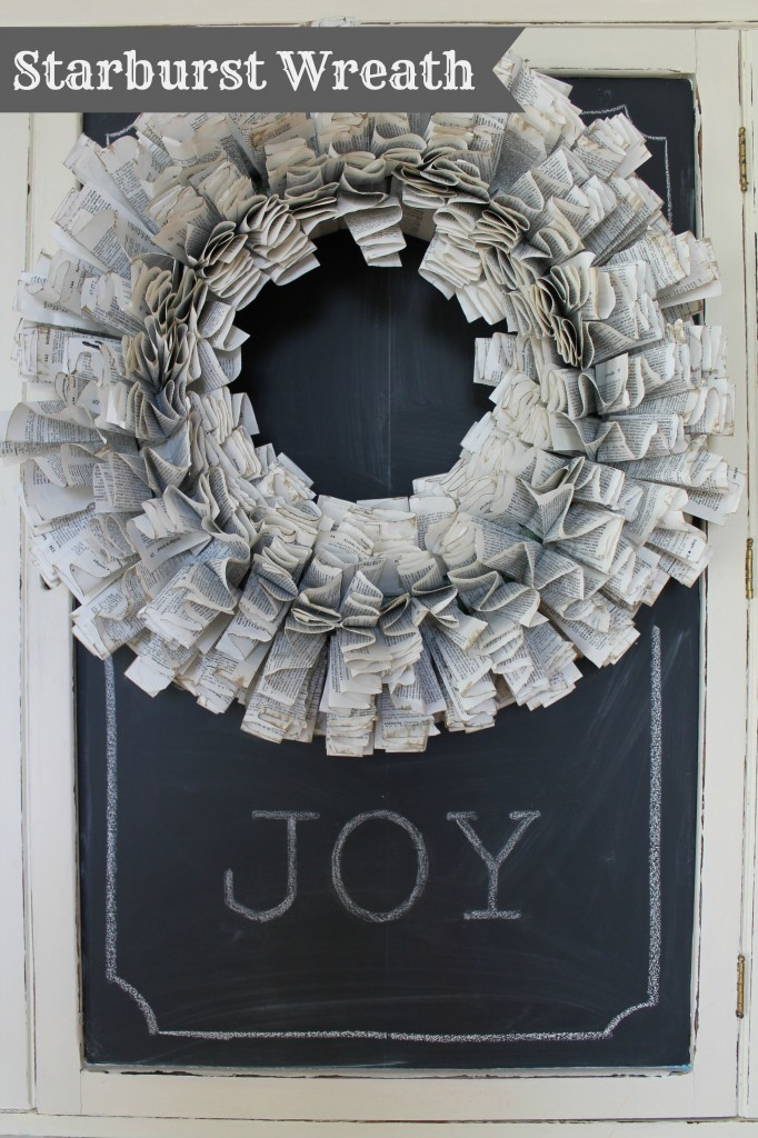 tree & Starburst paper wreath Finished 013pm