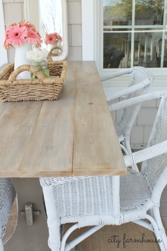 CF diy simple farmhouse table