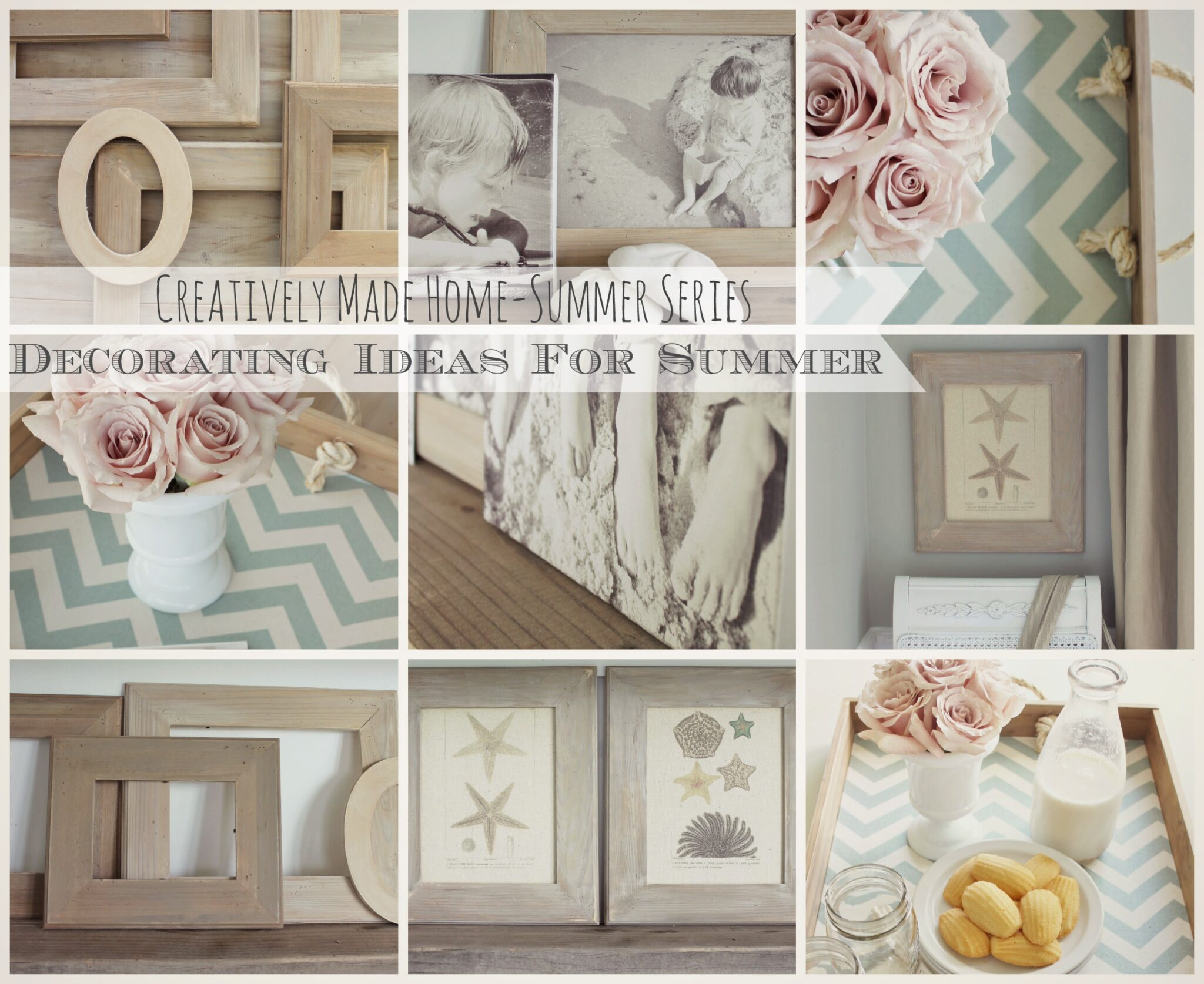Decorating ideas for summer e course giveway city farmhouse for Summer decorations for the home