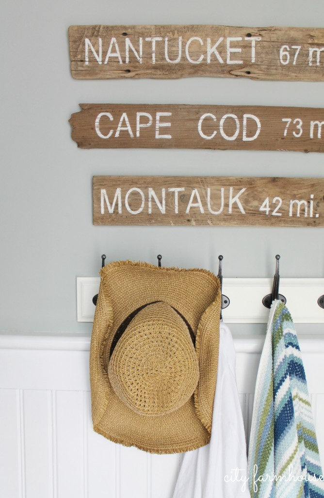 PB Inspired Beach Signs Nantucket, Cape Cod & Montauk