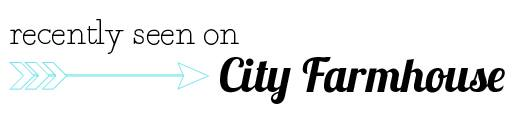 City Farmhouse Linky Party