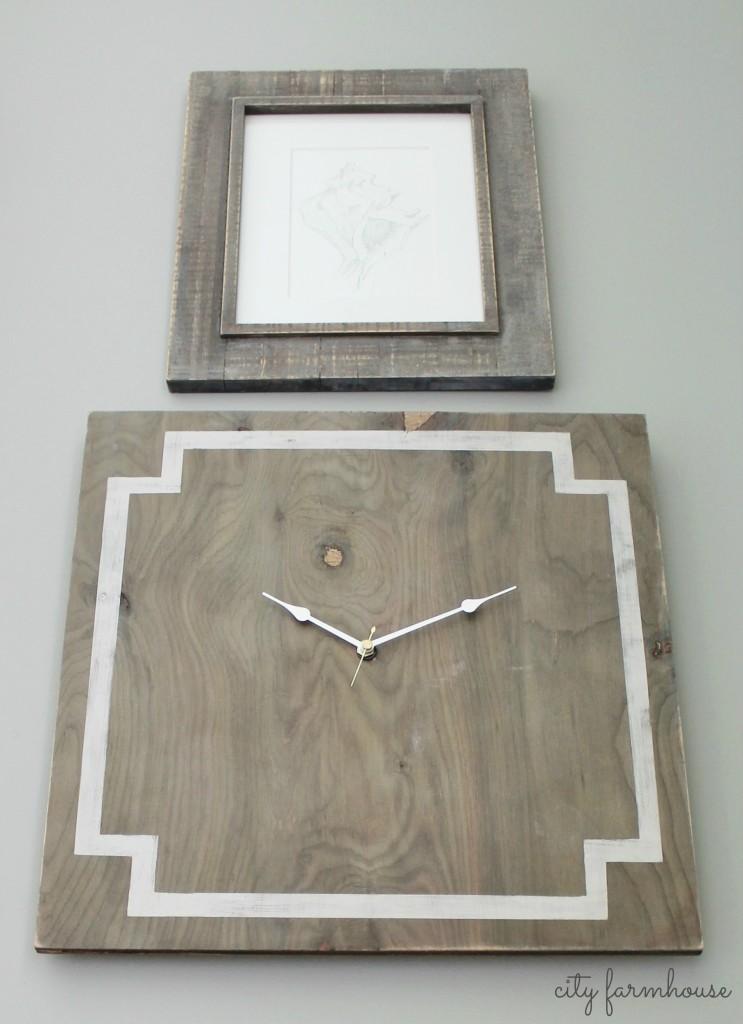 Greek Key Clock -Easy DIY Project