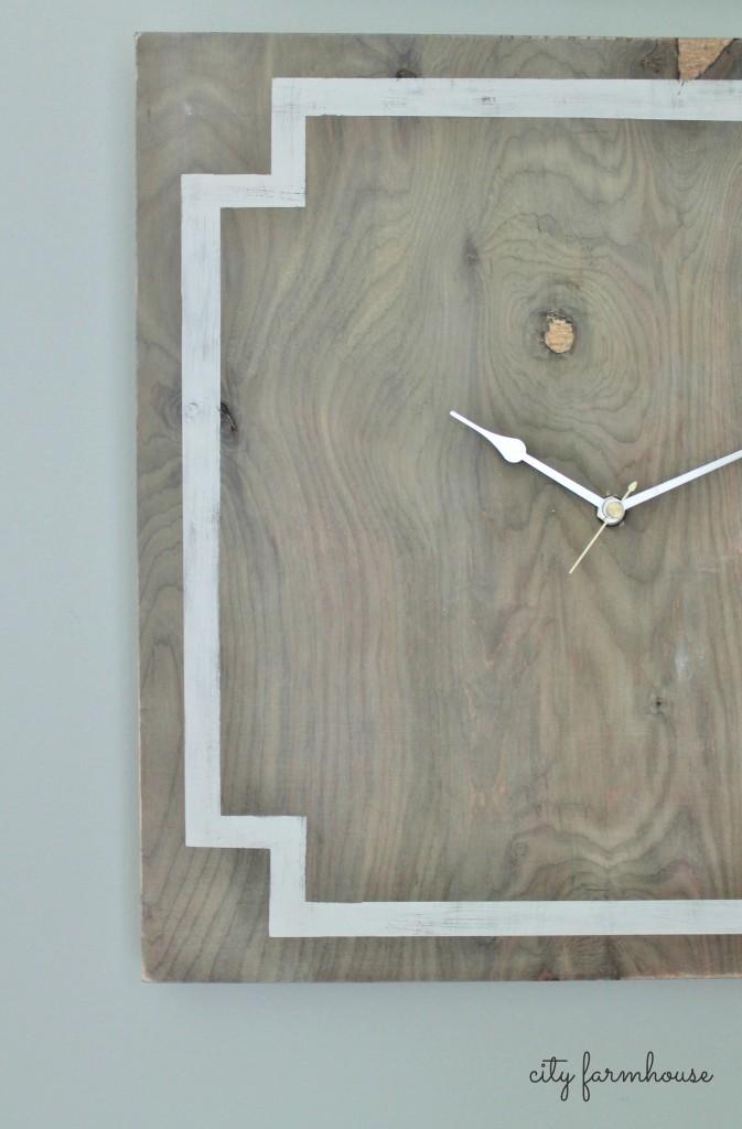 Greek Key DIY Clock Using Simple Materials
