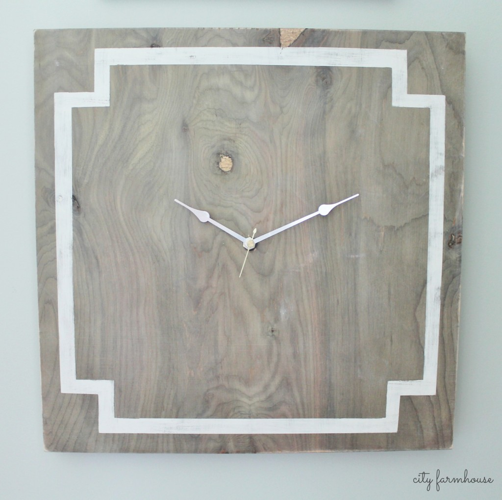 Greek Key Easy DIY Clock