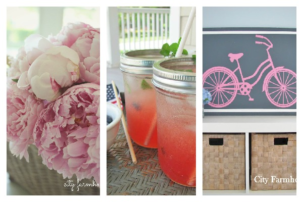 Inspiration Exchange Linky Party #4- City Farmhouse