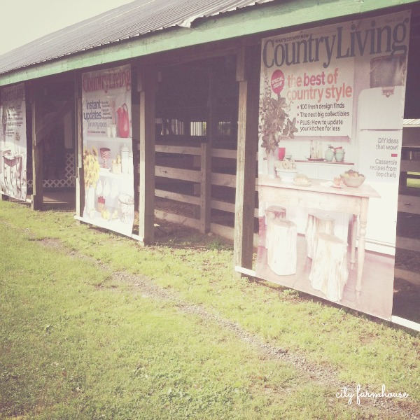 The Country Living Fair & A Beautiful Weekend