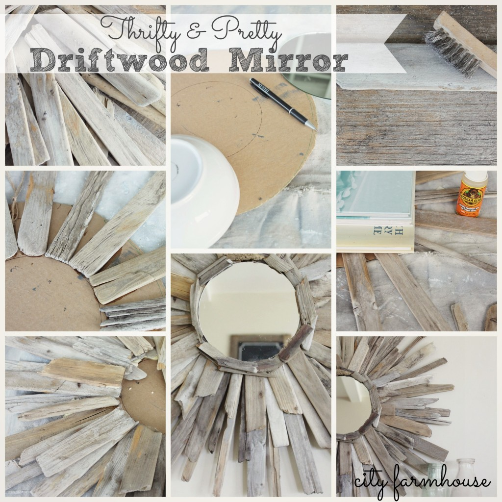 City Farmhouse-Thrifty & Pretty Driftwood Mirror
