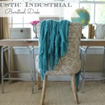 DIY Rustic Chic Industrial Bartsool Desk