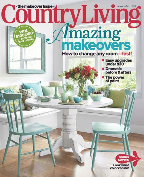 Country Living HOY Project Home Again September Issue