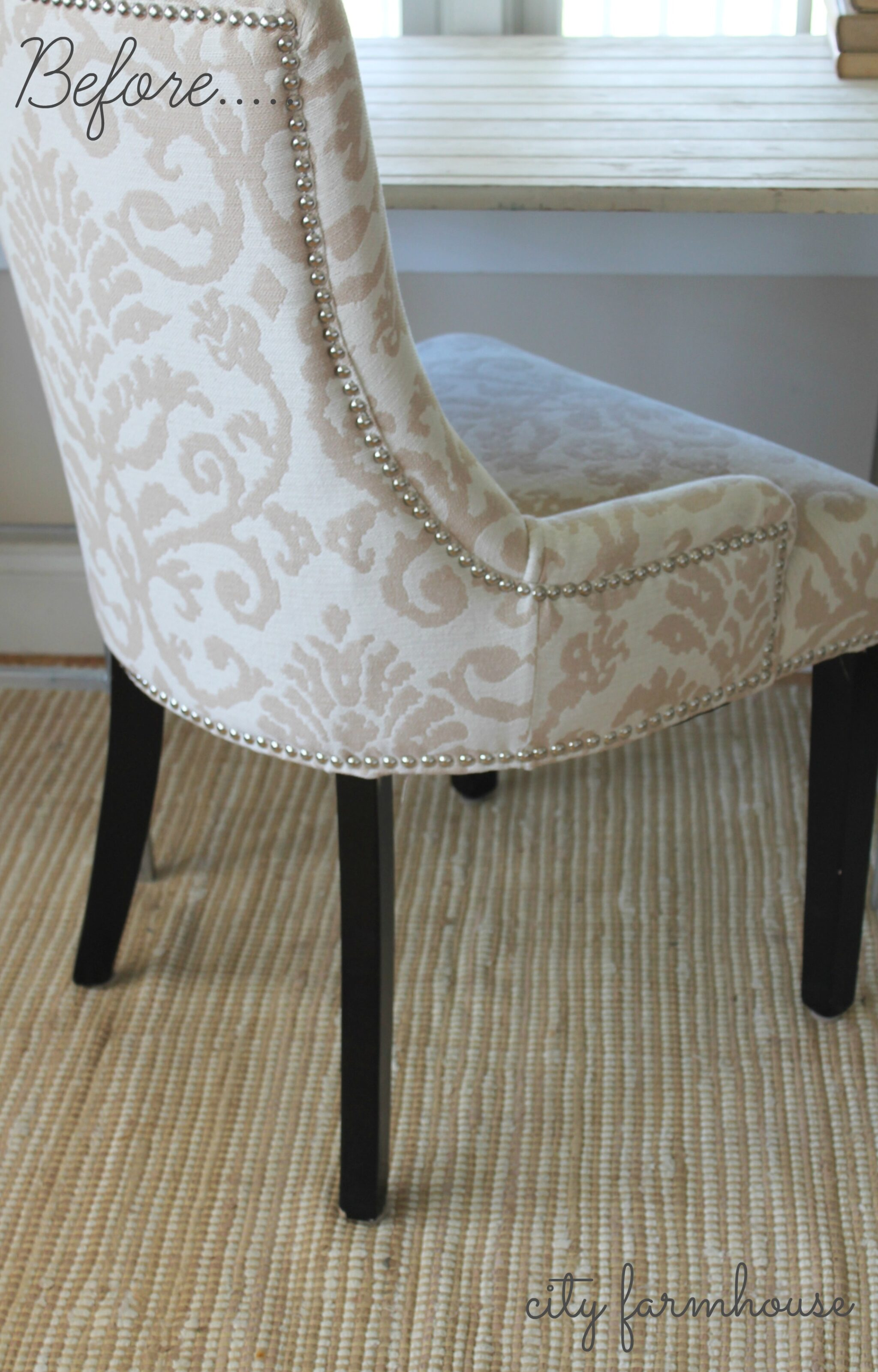 Rustic Glam Chair Makeover Easy Fix For Those Dark Legs City