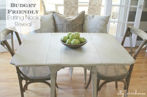Budget Friendly Eating Nook Reveal