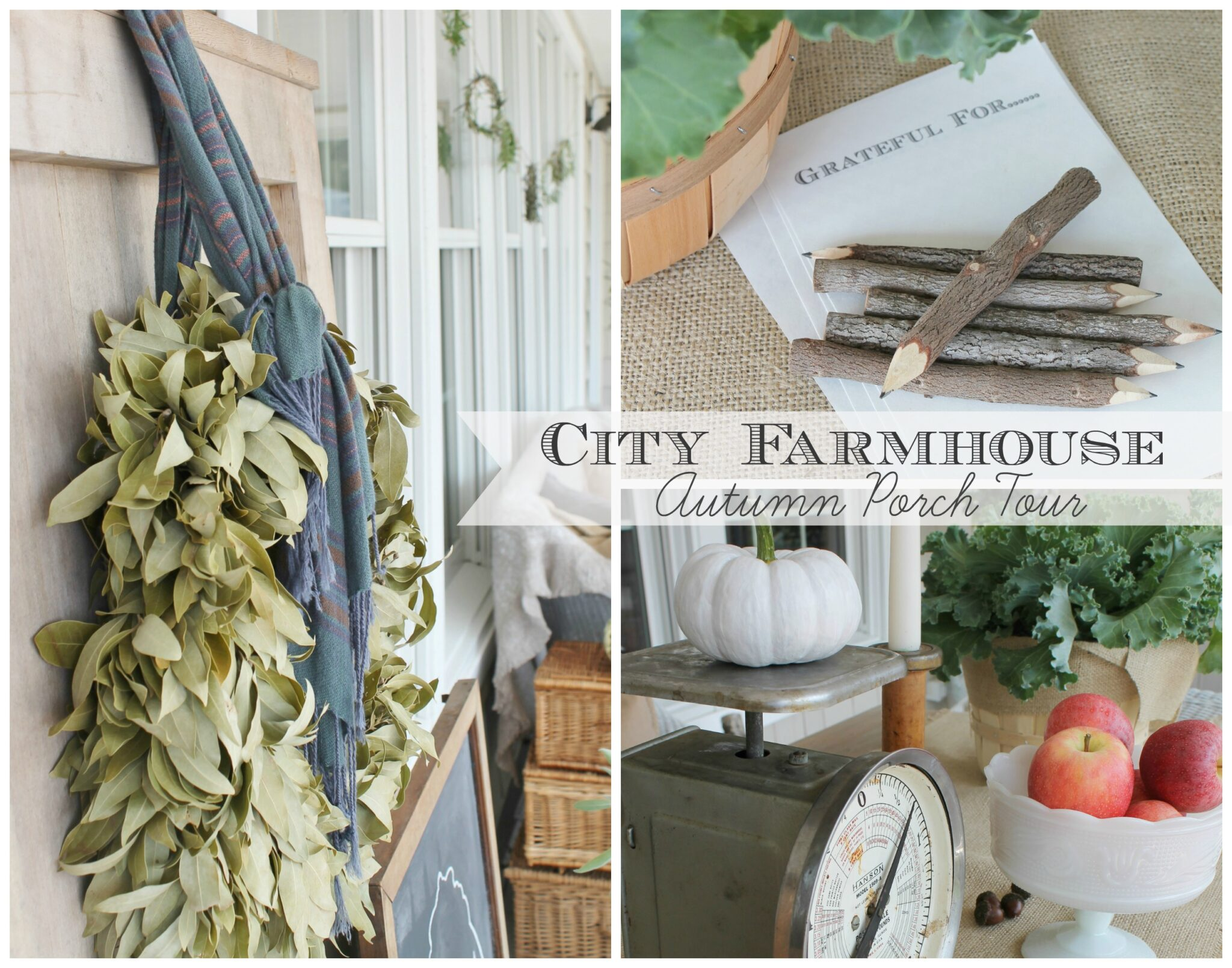 Seasons Of Home Autumn Porch Tour