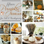 The Inspiration Exchange Features-15 Pumpkin Ideas for Fall & Thanksgiving