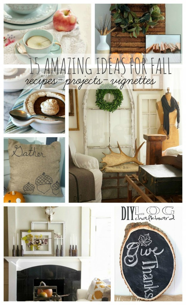15 AMAZING FALL IDEAS-The Inspiration Exchange