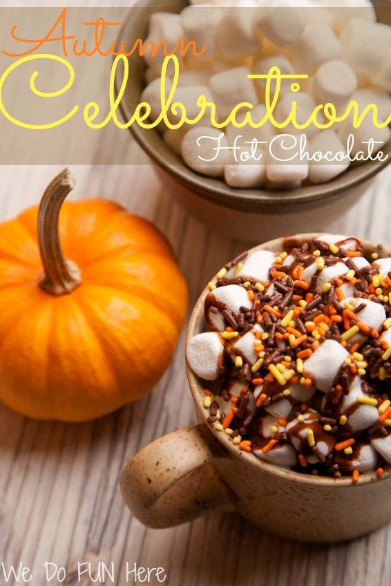 Autumn Hot Chocolate -The Inspiration Exchange