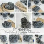 DIY Pom-Poms- 6 Easy Steps & 6 Fun Holiday Ideas