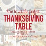 How To Set The Perfect Thanksgiving Table-The Inspiration Exchange Features