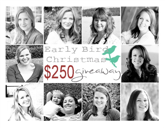 Early Bird Christmas- $250 Cash Giveaway