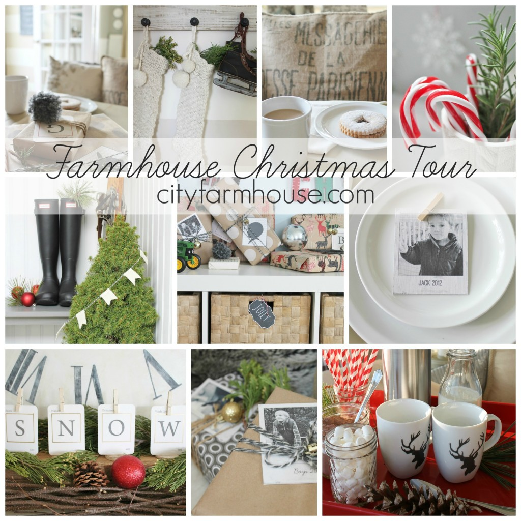 City Farmhouse Farmhouse Christmas Tour