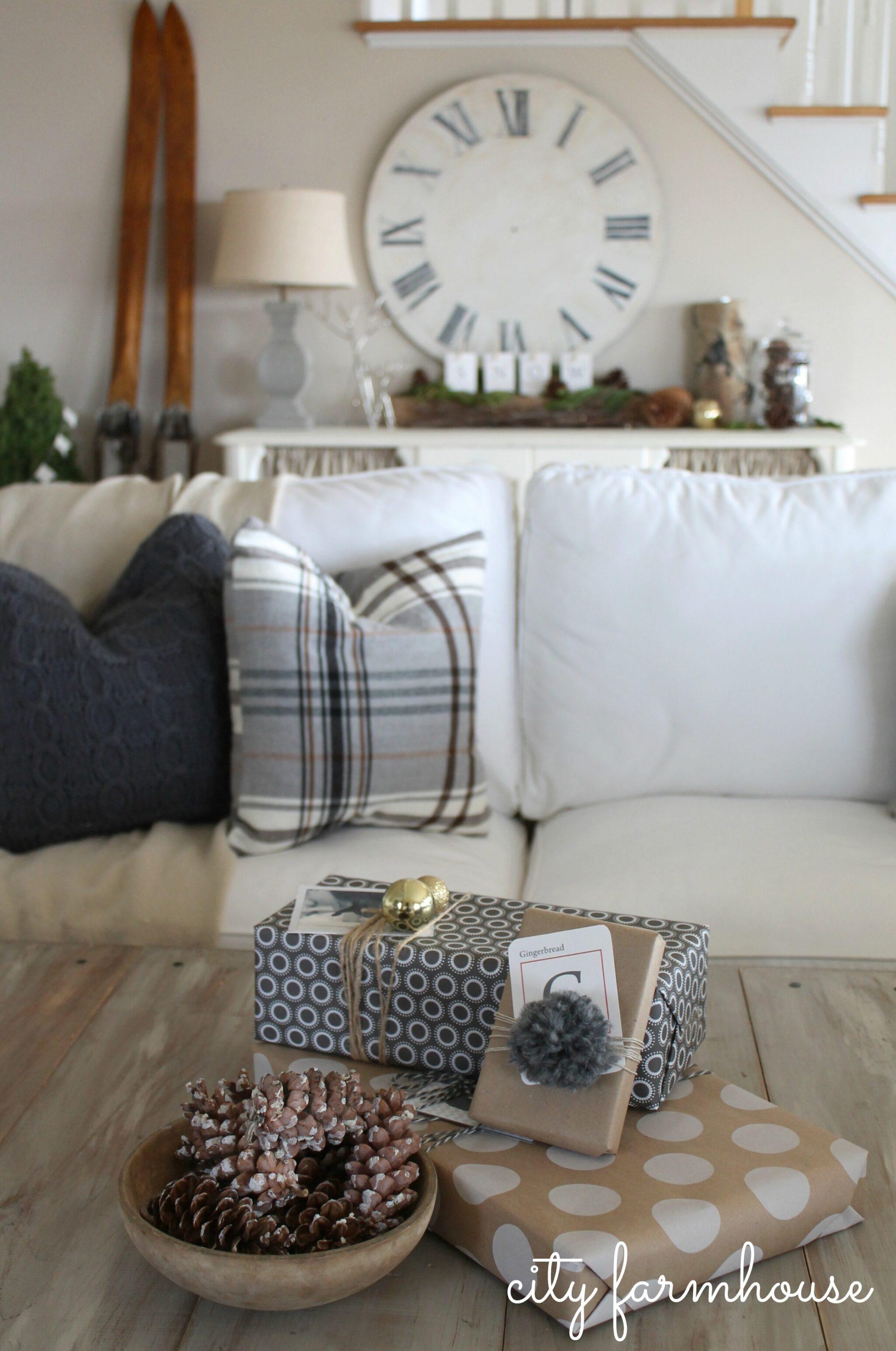 Farmhouse Throw Pillows Couch