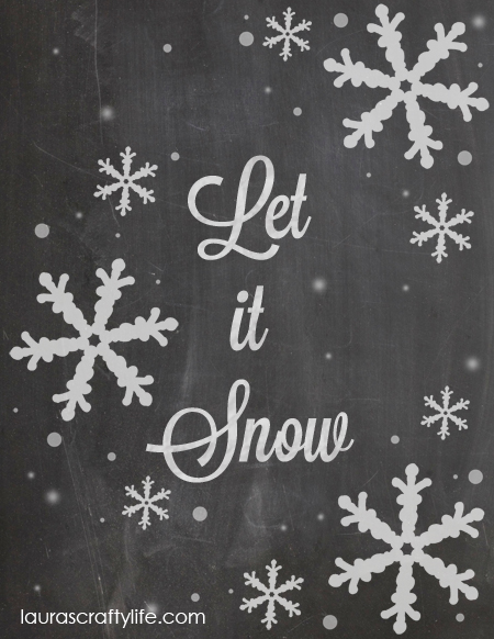 Let it Snow by Lauras Crafty Life