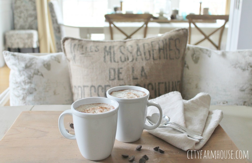 DIY Spiced Dark Hot Chocolate-A healthier choice for those chilly winter days-easy & so delicious