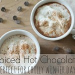 Spiced Dark Hot Chocolate{Perfect for Chilly Winter Days}