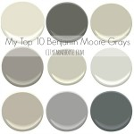 My Top 10 Benjamin Moore Grays