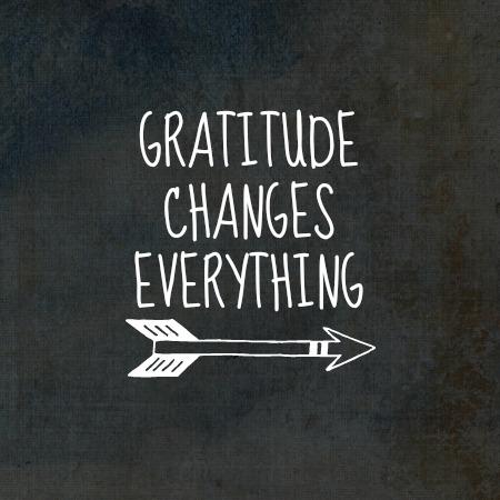 gratitude changes everything Chalkboard