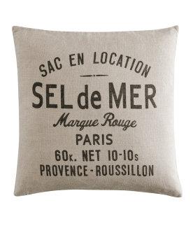 H & M Linen Pillow