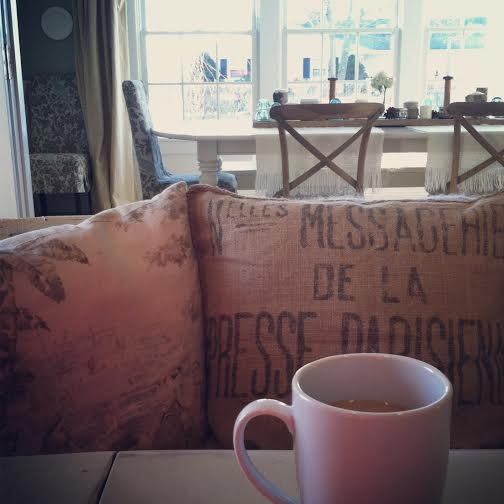 City Farmhouse morning coffee & feeling grateful