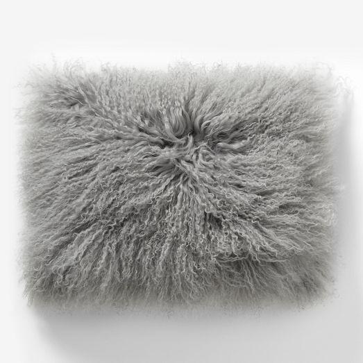 Lamb Wool PIllow WEst Elm