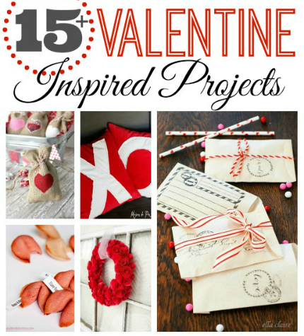 15+ Valentine Inspired Projects