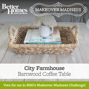 Better Homes & Gardens Makeover Madness Round 2-It's Voting Day!!!