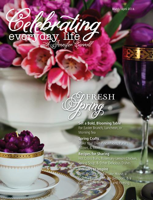 Dekorationly.com Het dagelijks leven vieren met Jennifer Carroll {maart / april nummer} vieren maart leven jennifer dagelijks carroll april