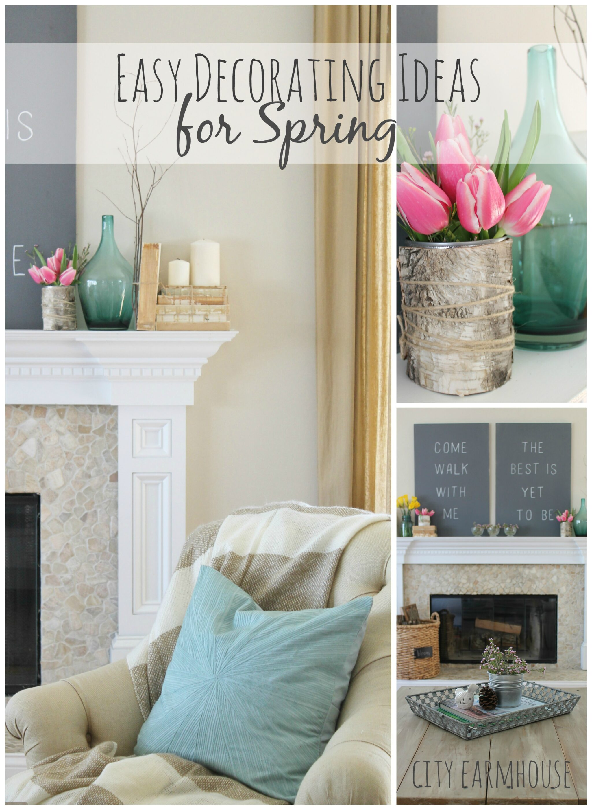 Seasons Of Home- Easy Decorating Ideas for Spring - City Farmhouse