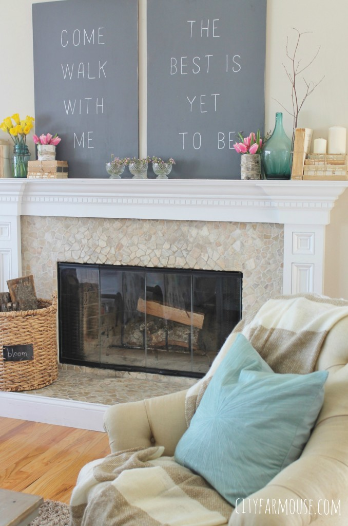Seasons Of Home Easy Spring Decorating Ideas Simple Rustic Colorful